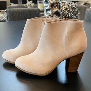 NWT Old Navy Suede Booties